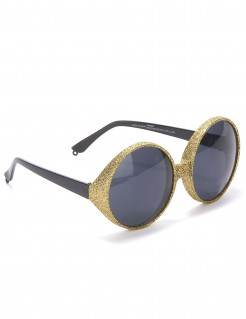 Strandbrille Spaßbrille gold