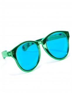 XXL Spaßbrille Party-Accessoire grün-blau