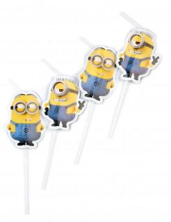 Minions™-Strohhalme 6 Stück