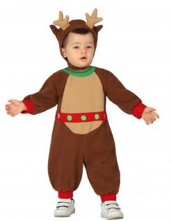 Rentier Overall Kostüm für Babys