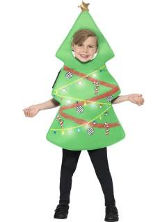 Leuchtender-Weihnachtsbaum-Kinderkostüm