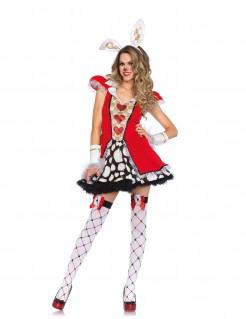 Märchen Herzkönigin Hasenkostüm  für Damen