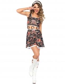 Sexy Hippie-Kleid für Damen bunt