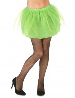 Petticoat mit Tüll für Damen neongrün