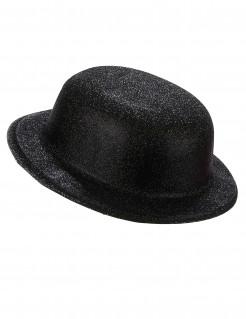 Englischer Hut Melone schwarz