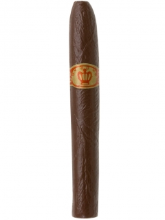 Karneval Zigarre braun 12cm