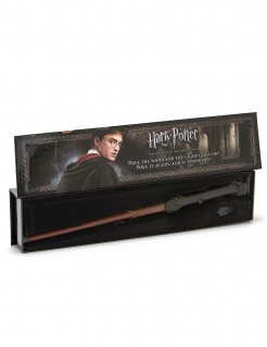 Harry Potter Zauberstab Harry Potter Accessoire schwarz-braun 36cm