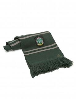 Slytherin-Schal Harry Potter™ Lizenzartikel grün-grau