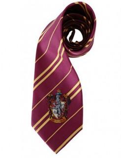 Gryffindor Krawatte Harry Potter Lizenzartikel dunkelrot-gelb 150cm