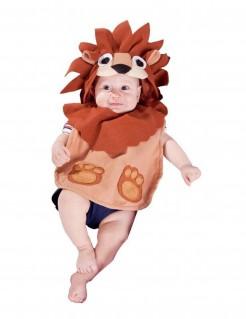 Löwen-Kostüm für Babys braun-beige