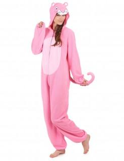 Süsser Panther Damenkostüm Wildkatze pink-rosa