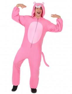 Panther-Kostüm Unisex Tierkostüm rosa