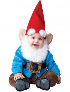 Lustiger Gartenzwerg Zwerg-Kostüm für Babys bunt