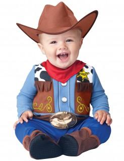 Cowboy-Babykostüm Kleiner Sheriff bunt