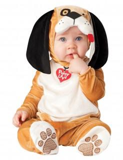 Süßer Hundestrampler Kostüm für Babys