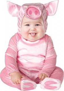 Ferkel-Outfit für Kleinkinder rosa