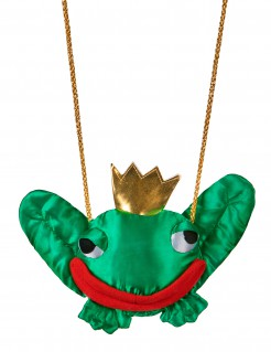 Froschkönig Märchen Tasche grün