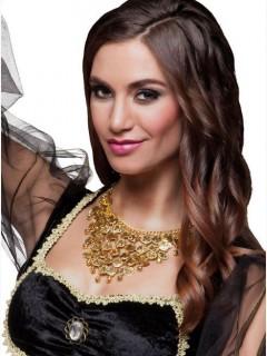 Orientalische Halskette Bauchtänzerin gold