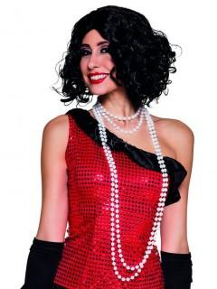 Perlenketten 20er Jahre für Damen 2 Stück weiß