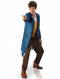 Newt Scamander Kostüm Phantastische Tierwesen Lizenzware blau-beige-braun