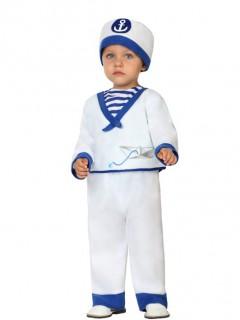 Kleiner Matrose Babykostüm Segler blau-weiss