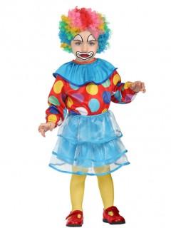 Witziges Clownkostüm für Kleinkinder