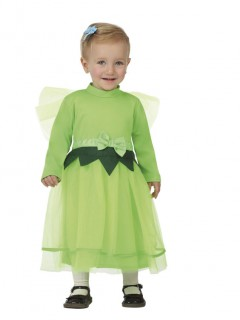 Süßes Feenkostüm für Mädchen grün