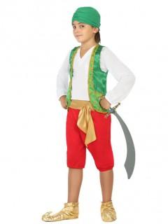 Orientalischer Prinz Kinderkostüm für Jungs bunt