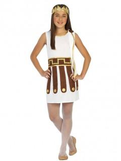 Römerin Kostüm Mädchen weiß