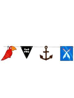 Piraten-Mini-Girlande 3 m