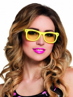Spaß Partybrille für Erwachsene gelb