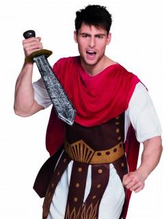 Römer Gladiator Schwert Kostümzubehör silber-schwarz-gold 57cm