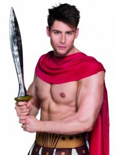Krieger Spartaner Schwert Kostümzubehör schwarz-silber-gold 69cm