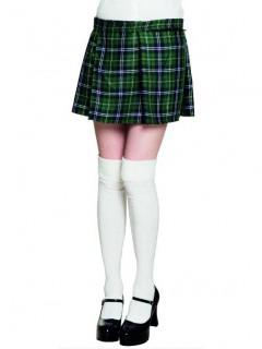 Karierter Kilt - Schottenrock für Damen grün