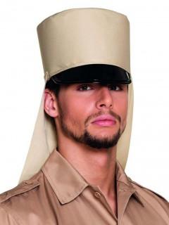 Erwachsenen-Legionärshut Tropen-Hut beige