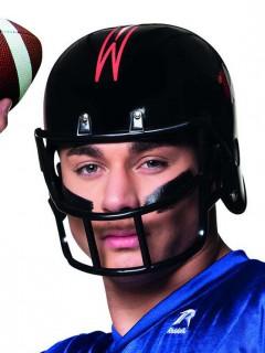 Football-Helm für Erwachsene schwarz