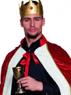 Weinkelch König gold-blau-grün 25cl
