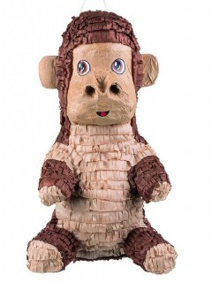 Affe-Piñata 49 x 28 cm