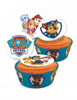 Paw Patrol™-Zuckeroblaten 16 Stück 3,4cm
