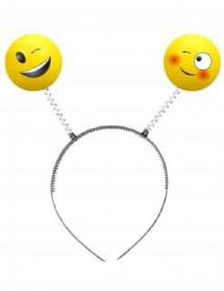 Emoji™-Haarreif gelb-grau