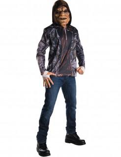 Suicide Squad Killer Croc Plus Size Kostüm-Set Lizenzware 2-teilig bunt