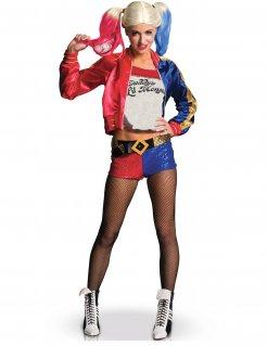 Harley Quinn-Kostüm für Damen Suicide Squad™ Lizenzware bunt
