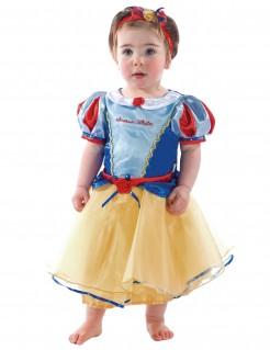 Lizenzartikel Schneewittchen Kostüm für Kleinkinder blau-gelb-rot