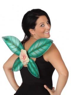 Paillettenbesetzte Feenflügel grün