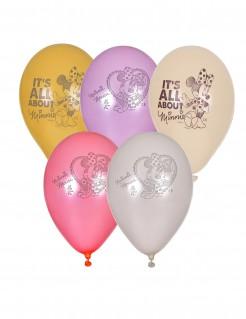Minnie™ Ballons Partyballons 5 Stück bunt