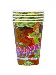 Scooby-Doo™-Pappbecher 5 Stück 200ml