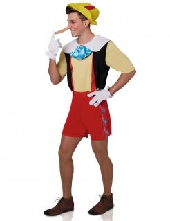 Pinocchio-Kostüm bunt