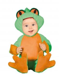 Babykostüm Frosch - grün