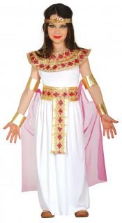 Ägyptisches Prinzessinnen-Mädchenkostüm