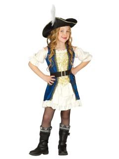 Piratinnen-Mädchenkostüm
